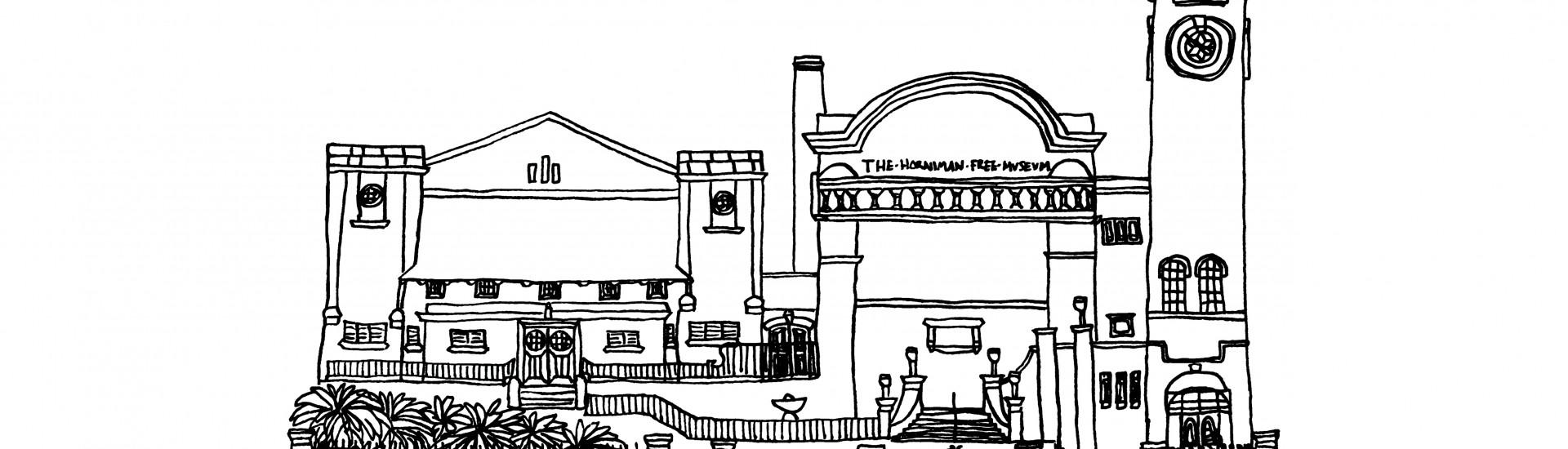 Horniman museum A3 plain
